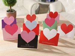 Подарочные сертификаты на День святого Валентина