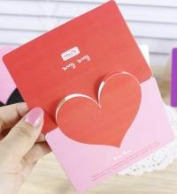 Подарочный сертификат ко Дню святого Валентина