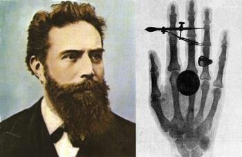 Немецкий физик Вильгельм Рентген