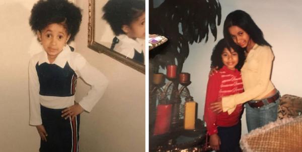 Карди Би в детстве