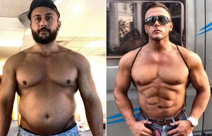 Адам Барони до и после пластических операций